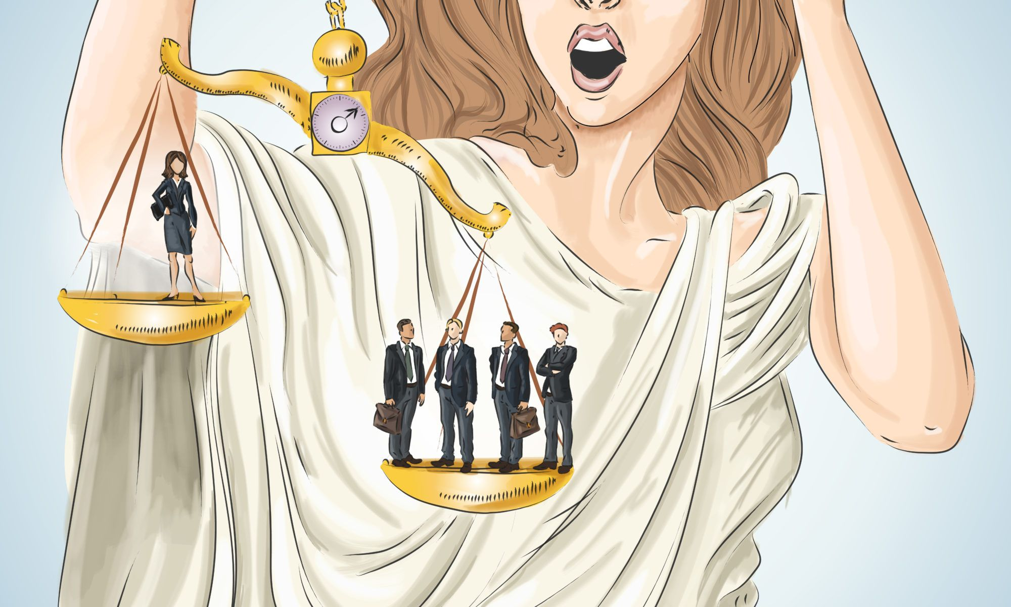 Lady Justice graphic photo