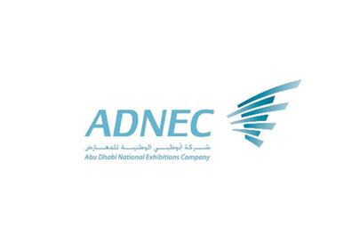 Abu Dhabi National Exhibitions Company (ADNEC) logo