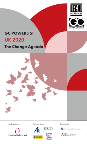 UK 2020: The Change Agenda GC Powerlist Cover