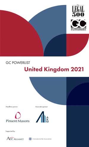 United Kingdom 2021 GC Powerlist Cover