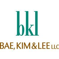 Logo Bae, Kim & Lee LLC
