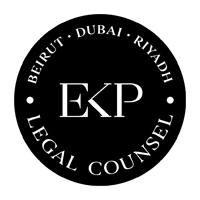 Logo Al-Enezee Legal Counsel in association with EKP