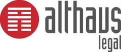 ALTHAUS Legal company logo