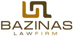 Bazinas Law Firm logo