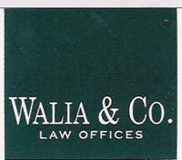 Walia & Co Law Offices logo