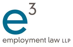 e3 employment law LLP logo
