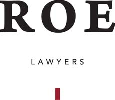 Roe Lawyers logo