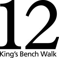 12 King's Bench Walk logo