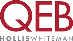 QEB Hollis Whiteman logo
