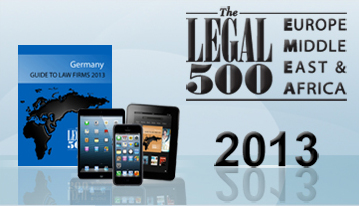 Now available: The Legal 500 EMEA 2013 in print and ebook formats (for iPad, iPhone and Kindle)