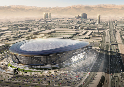 image of Oakland Raiders proposed new stadium in vegas Las Vegas Raiders