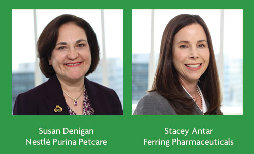 Susan Denigan, Nestle Purina Petcare, Stacey Antler, Ferring Pharmaceuticals
