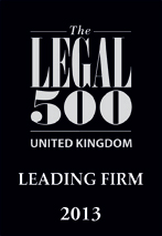UK Leading Firm Legal 500