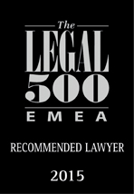 Venelin Dimitrov - recommended lawyer - The Legal 500
