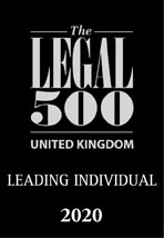Roger Gurney Legal 500 Leading Individual 2020