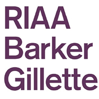 RIAA BARKER GILLETTE logo