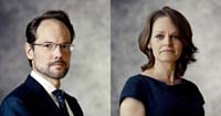 Gerrit Oosterhuis & Greetje van Heezik, Partner & Counsel, Brussels Photo