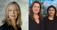 Helena Sprenger, Partner, New York & Kirsten Berger, Partner, Head of Energy & Carmen Bakas, Representative Houston Photo