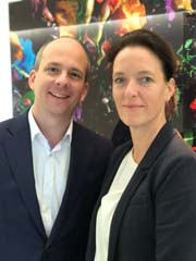 Esther Veltman, Representative Singapore & Bram Caudri, Partner Corporate M&A Photo