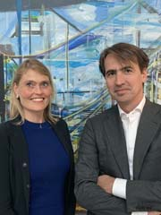 Cecile Eijsink Bonnier, Representative Tokyo & Michiel Pannekoek, Partner Corporate M&A | Chief International Officer Photo