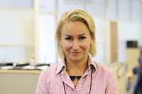 Anna Kostyra, Managing partner at Deloitte Legal CIS Photo