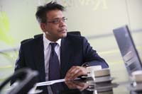 Aziz Rahman, Senior and managing partner Photo