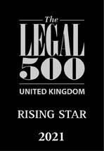 Legal 500 Rising Star 2021